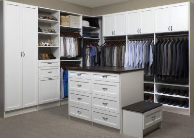 Walk In Closet - White Walk In Closet Island Shaker Coco Countertop Bench Oil Rubbed Bronze Laundry(1)