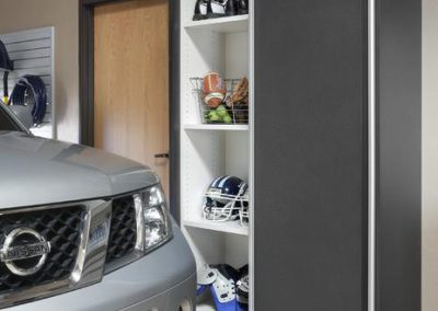 Garages - Granite Sliding Door Vehicle Clearance