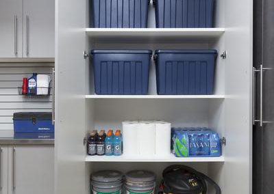Garages - Oversized Garage Storage