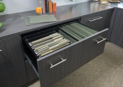 Office - Licorice Filing Drawer Flat Finish