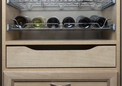 Pantry - Secret Premier Drawer Face Pant Rack Wine Rack Scoop Drawer