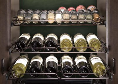 Pantry - Wine Rack Spice Rack