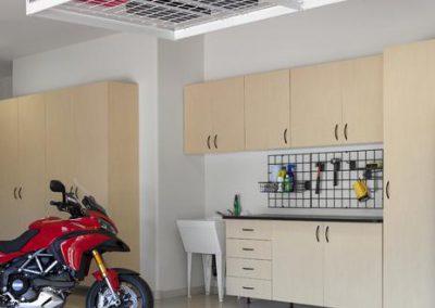 Garages - Maple Garage Storage Overhead Suspension Storage