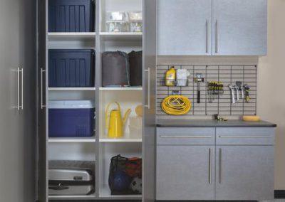 Garages - Pewter Garage Storage