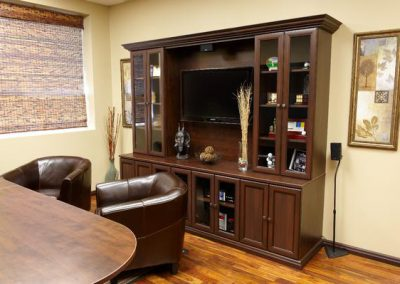Office - Chocolate Pear Office Hutch