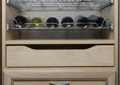 Pantry - Secret Premier Drawer Face Pant Rack Wine Rack Scoop Drawer