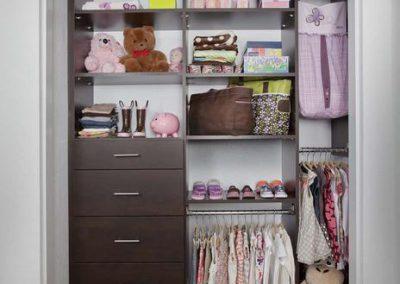 Modern Reach In Closet Chocolate Girls